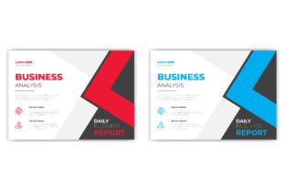 Print on Demand: Professional Horizontal Flyer Template Graphic Print Templates By grgroup03