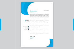 Professional Letterhead Template Design Graphic Print Templates By grgroup03