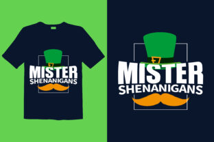 Print on Demand: St. Patrick's Day T-shirt Design 036 Graphic Print Templates By graphicdabir