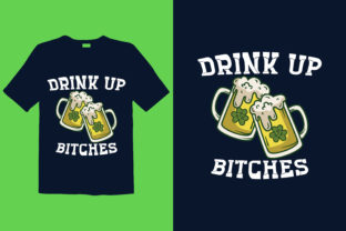 Print on Demand: St. Patrick's Day T-shirt Design 037 Graphic Print Templates By graphicdabir