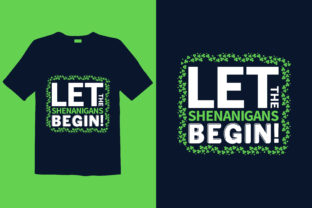 Print on Demand: St. Patrick's Day T-shirt Design 038 Graphic Print Templates By graphicdabir