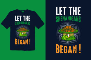 Print on Demand: St. Patrick's Day T-shirt Design 045 Graphic Print Templates By graphicdabir