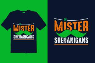 Print on Demand: St. Patrick's Day T-shirt Design 047 Graphic Print Templates By graphicdabir