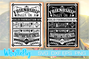 Print on Demand: Best Friends Friendship Cute Friends Graphic Crafts By Whistlepig Designs