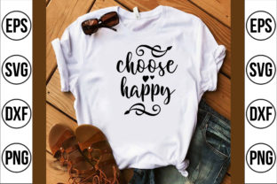 Choose Happy Graphic Crafts By craft bd