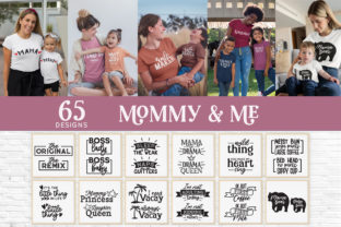 Mommy and Me Outfits Svg Bundle Graphic Crafts By peachycottoncandy