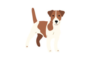 Jack Russell Dogs Craft Cut File By Creative Fabrica Crafts