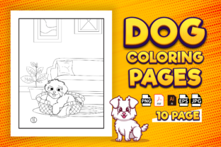 Print on Demand: Dog Coloring Pages for Kids - Kdp Graphic Coloring Pages & Books Kids By Kristy Coloring