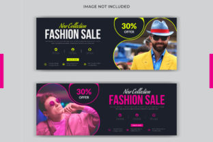 Fashion Facebook Cover Page Web Banner Graphic Web Templates By grgroup03