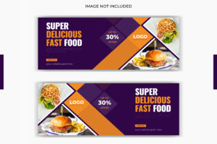 Food Restaurant Facebook Cover Banner Graphic Graphic Templates By grgroup03