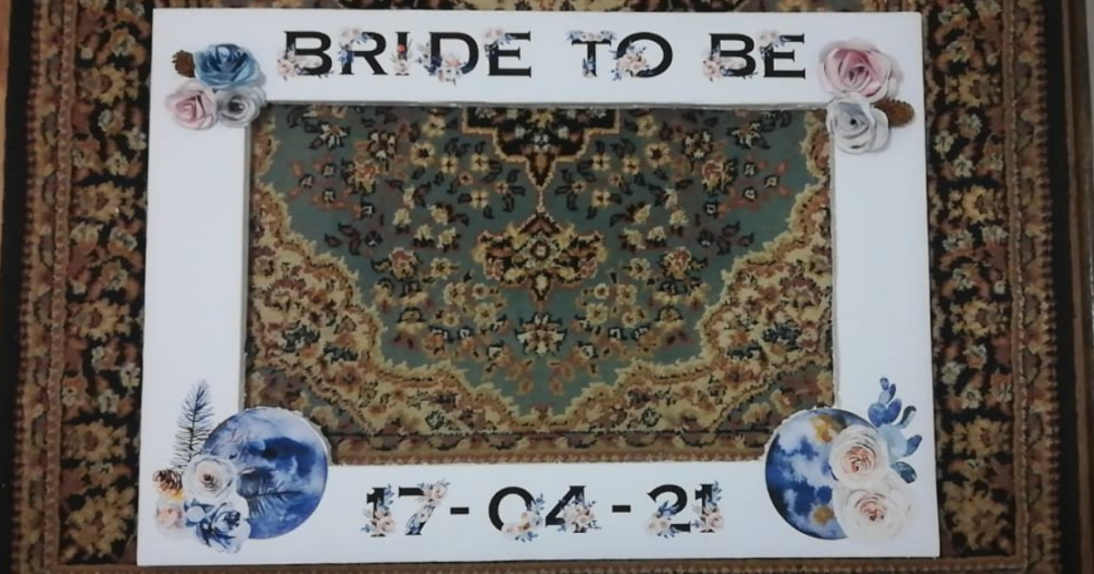 How to Make a Bridal Party Photo Frame