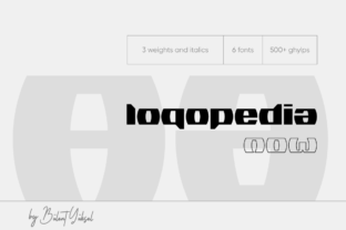 Print on Demand: Logopedia Now Display Font By blntyksl