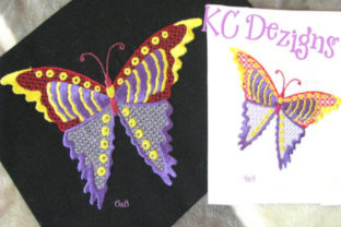 Pretty Butterflies Design Bugs & Insects Embroidery Design By karen50