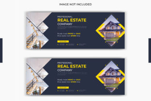 Real Estate Home  Facebook Cover Graphic Graphic Templates By grgroup03
