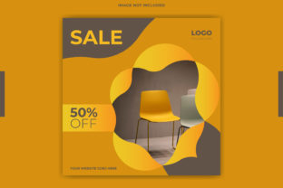 Print on Demand: Social Media Instagram Post Sale Banner Graphic Web Templates By grgroup03