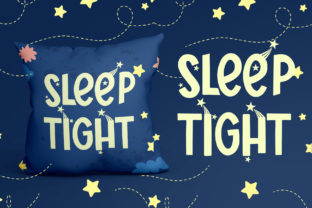 Print on Demand: Starry Nights Display Font By dmletter31 3