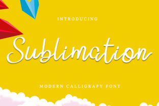 Print on Demand: Sublimation Script & Handwritten Font By dazzlinggleam