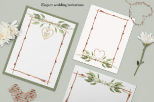 """Print on Demand: Watercolor Set """"Frame Maker"""" Graphic Graphic Templates By SirenaArt 5"""