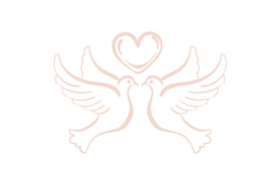 Love Doves Wedding Craft Cut File By Creative Fabrica Crafts