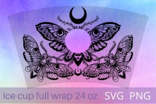 Print on Demand: Death Moth SVG PNG Full Wrap Graphic Crafts By Cnxsvg