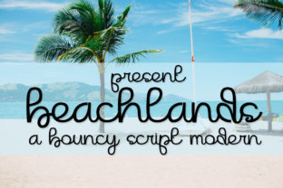 Print on Demand: Beachlands Script & Handwritten Font By jehansyah251