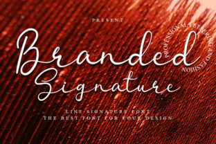 Print on Demand: Branded Signature Script & Handwritten Font By FreshTypeINK