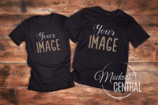 Couple Friend's Matching Shirt Mockup Graphic Product Mockups By Mockup Central