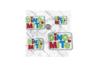 Dino Mite Dinosaurs Embroidery Design By Yours Truly Designs