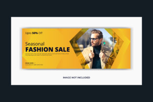 Fashion Lifestyle Facebook Cover Banner Graphic Web Templates By grgroup03