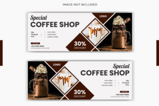 Food Coffee Drinks Facebook Cover Banner Graphic Web Templates By grgroup03