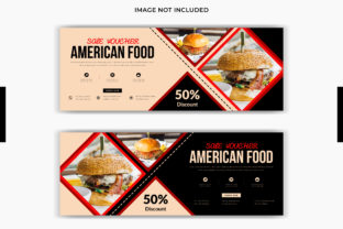 Food Facebook Cover Social Media Post Graphic Web Templates By grgroup03