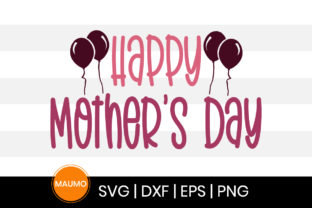 Print on Demand: Happy Mother's Day Svg Quote Graphic Print Templates By Maumo Designs