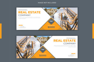 Real Estate Facebook Cover Banner Graphic Web Templates By grgroup03