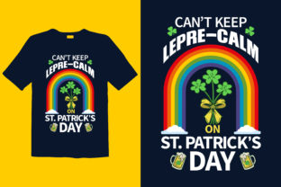 Print on Demand: St. Patrick's Day T-shirt Design, 057 Graphic Print Templates By graphicdabir