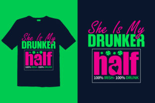 Print on Demand: St. Patrick's Day T-shirt Design 068 Graphic Print Templates By graphicdabir