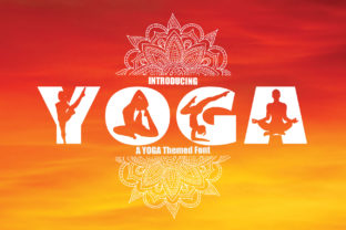 Print on Demand: Yoga Display Font By KtwoP