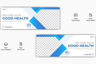 Medical Hospital Facebook Cover Banner Graphic Web Templates By grgroup03