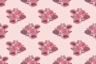 Seamless Floral Textile Pattern Design Graphic Patterns By sabbirahmed012