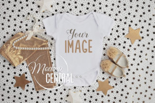 Star Baby Onepiece Shirt Mockup Graphic Product Mockups By Mockup Central
