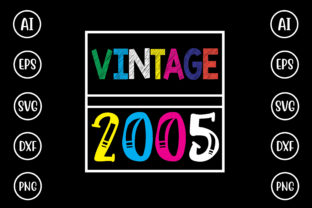 Vintage 2005 Graphic Crafts By Printable Store