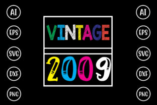 Vintage 2009 Graphic Crafts By Printable Store