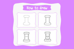 Print on Demand: How to Draw Children Practice Worksheet Graphic Coloring Pages & Books Kids By Riduwan Molla