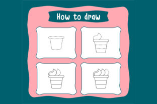 Print on Demand: How to Draw Step by Step Worksheets Graphic Coloring Pages & Books Kids By Riduwan Molla
