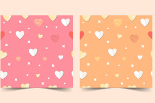Seamless Pattern of Love Graphic Graphic Patterns By hamdhan231196