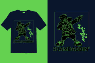 Print on Demand: St. Patrick's Day T-shirt Design 084 Graphic Print Templates By graphicdabir