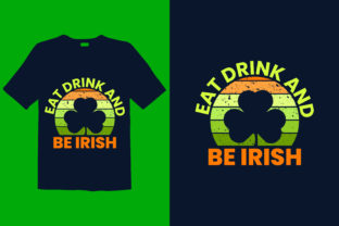 Print on Demand: St. Patrick's Day T-shirt Design 089 Graphic Print Templates By graphicdabir