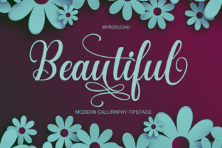 Print on Demand: Beautiful Script & Handwritten Font By samshidarstudio