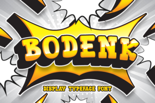 Print on Demand: Bodenk Display Font By Sealoung