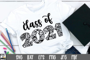 Print on Demand: Class of 2021 SVG File Graphic Crafts By oldmarketdesigns