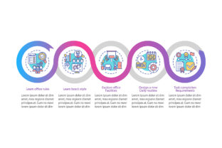 Print on Demand: Explore Facilities Vector Infographic Graphic Infographics By bsd studio